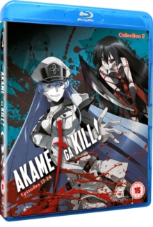 Akame Ga Kill: Collection 2, Blu-ray BluRay