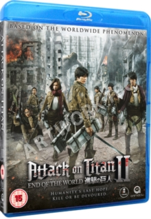 Attack On Titan: Part 2 - End of the World, Blu-ray BluRay