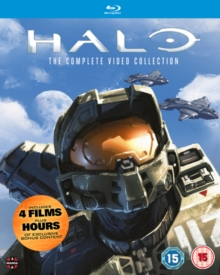 Halo: The Complete Video Collection, Blu-ray BluRay
