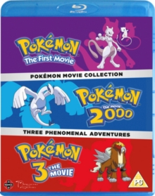 Pokémon Movie Collection, Blu-ray BluRay