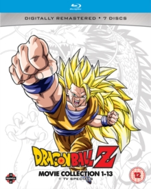 Dragon Ball Z: Movie Collection 1-13 + TV Specials, Blu-ray BluRay