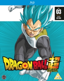 Dragon Ball Super: Part 3, Blu-ray BluRay