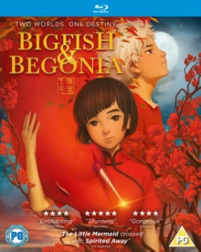 Big Fish and Begonia, Blu-ray BluRay
