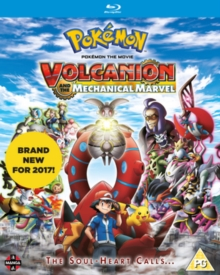 Pokemon the Movie: Volcanion and the Mechanical Marvel, Blu-ray BluRay