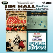 Three Classic Albums Plus: Jazz Guitar/Good Friday Blues/Paul Desmond: First Place Again/..., CD / Album Cd