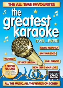 The Greatest Karaoke DVD... Ever!, DVD DVD