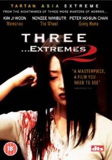 Three Extremes, DVD  DVD
