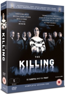 The Killing: Season 1, DVD DVD