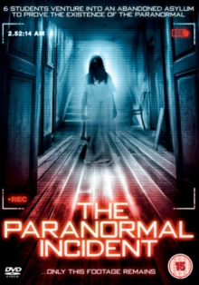 The Paranormal Incident, DVD DVD