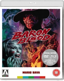 Baron Blood, Blu-ray  BluRay