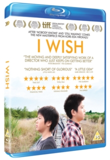 I Wish, Blu-ray  BluRay