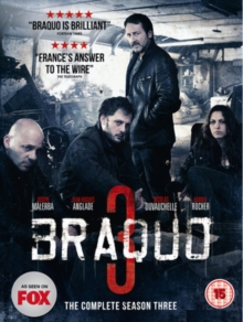 Braquo: The Complete Season Three, Blu-ray  BluRay