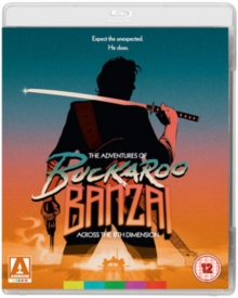 The Adventures of Buckaroo Banzai Across the 8th Dimension, Blu-ray BluRay