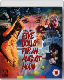 Five Dolls for an August Moon, Blu-ray BluRay