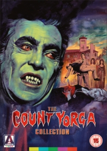 The Count Yorga Collection, DVD DVD