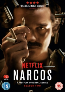 Narcos: The Complete Season Two, DVD DVD