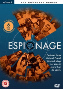 Espionage: The Complete Series, DVD  DVD