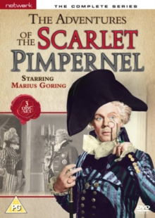 The Adventures of the Scarlet Pimpernel: The Complete Series, DVD DVD