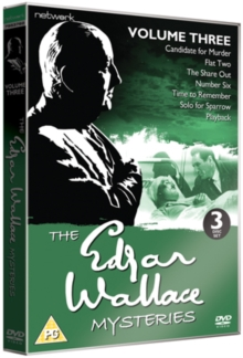Edgar Wallace Mysteries: Volume 3, DVD  DVD
