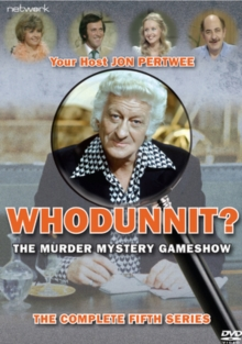 Whodunnit: The Complete Fifth Series, DVD  DVD