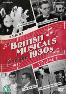 British Musicals of the 1930s: Volume 1, DVD  DVD