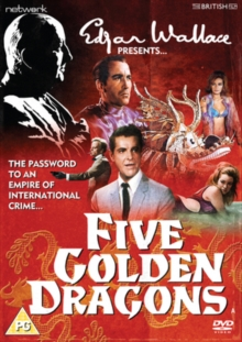Five Golden Dragons, DVD  DVD
