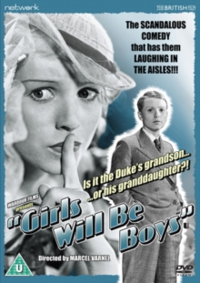 Girls Will Be Boys, DVD  DVD