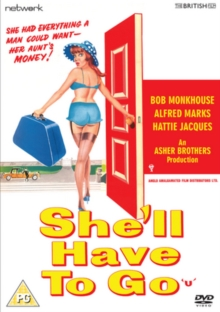 She'll Have to Go, DVD  DVD
