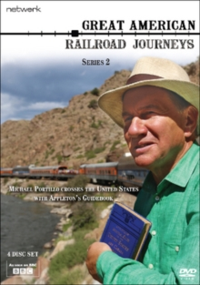 Great American Railroad Journeys: The Complete Series 2, DVD DVD