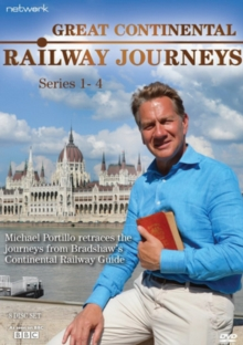 Great Continental Railway Journeys: Series 1 to 4, DVD DVD