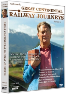Great Continental Railway Journeys: Series 5, DVD DVD