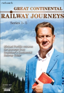 Great Continental Railway Journeys: Series 1-5, DVD DVD