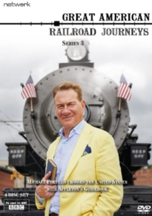 Great American Railroad Journeys: The Complete Series 3, DVD DVD