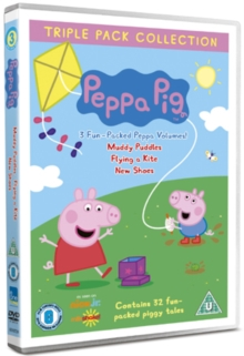 Peppa Pig: Muddy Puddles/Flying a Kite/New Shoes, DVD  DVD