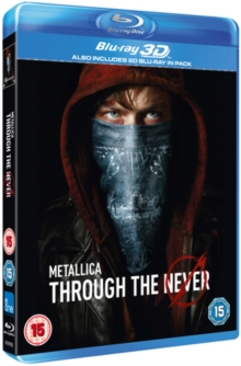Metallica: Through the Never, Blu-ray  BluRay