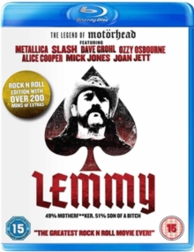 Lemmy, Blu-ray  BluRay