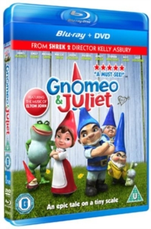 Gnomeo and Juliet, Blu-ray  BluRay