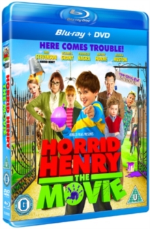 Horrid Henry: The Movie, Blu-ray  BluRay