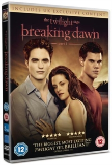 The Twilight Saga: Breaking Dawn - Part 1, DVD DVD