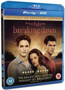 The Twilight Saga: Breaking Dawn - Part 1, Blu-ray BluRay