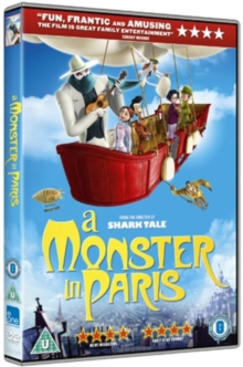 A   Monster in Paris, DVD DVD