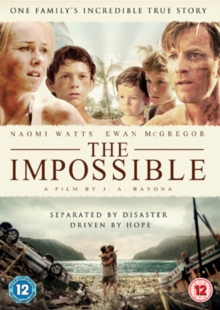 The Impossible, DVD DVD