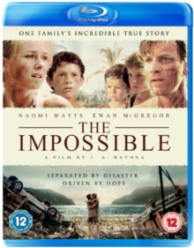 The Impossible, Blu-ray BluRay