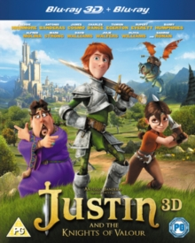 Justin and the Knights of Valour, Blu-ray  BluRay