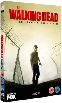 The Walking Dead: The Complete Fourth Season, DVD DVD