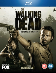 The Walking Dead: The Complete Season 1-4, Blu-ray BluRay