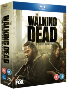 The Walking Dead: The Complete Seasons 1-5, Blu-ray BluRay