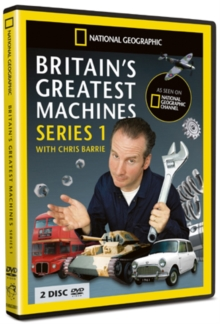 National Geographic: Britain's Greatest Machines - Series 1, DVD  DVD