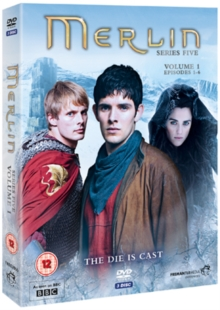 Merlin: Series 5 - Volume 1, DVD  DVD