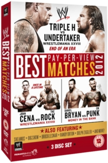 WWE: The Best PPV Matches of 2012, DVD  DVD